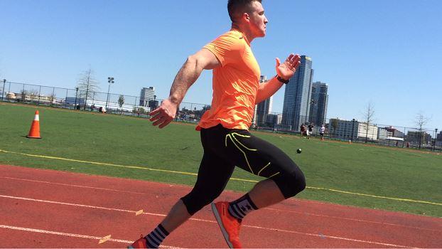 Mike Dewar Running