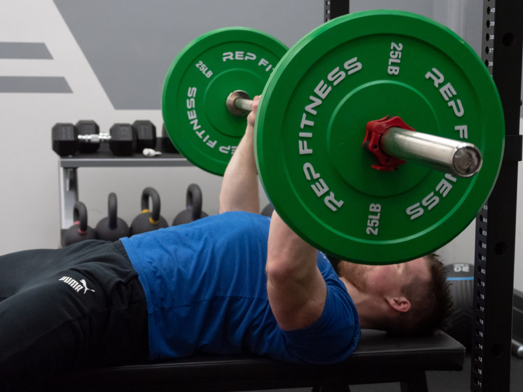 Bench Press Exercise Guide - Push Yourself Away from the Bar