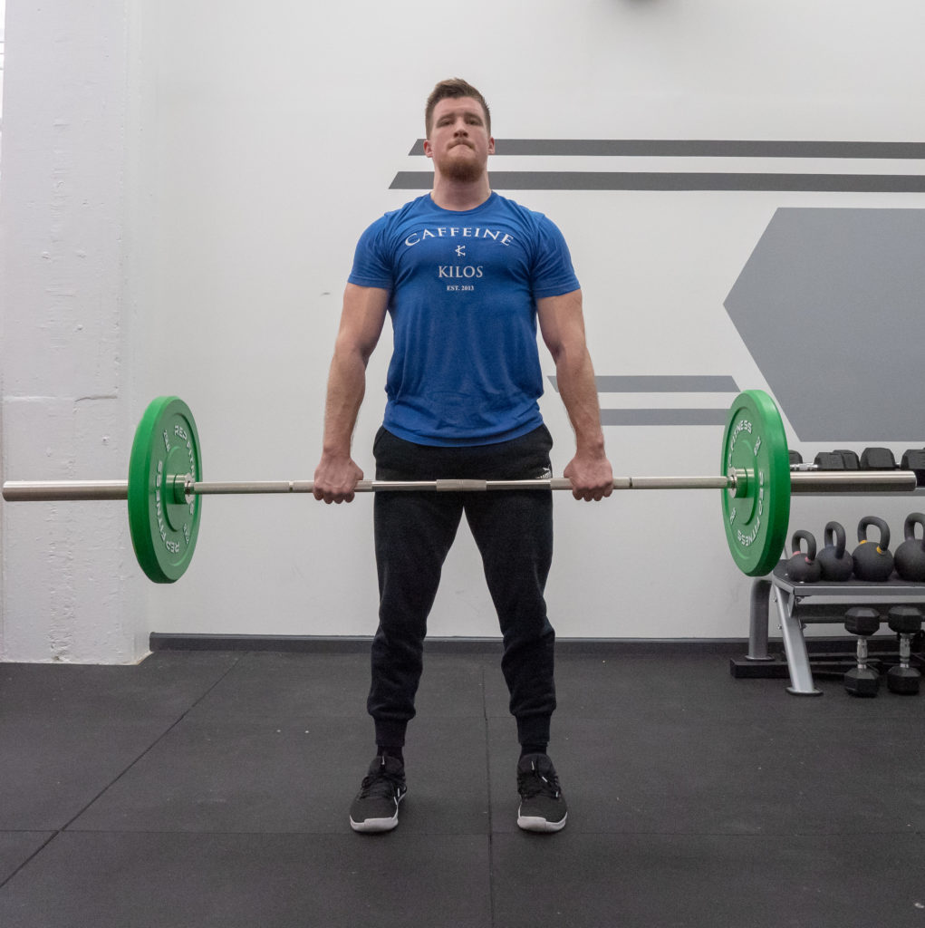 Deadlift Exercise Guide - Finish Position