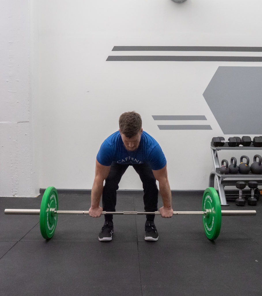 Deadlift Exercise Guide - Set Up