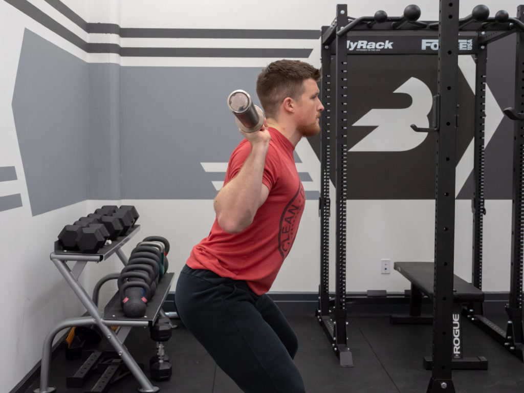 Back Squat Exercise Guide - Bend the Knees and Hips