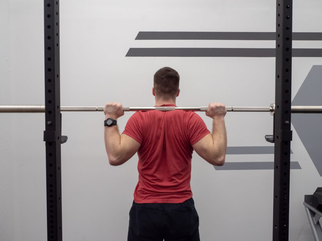 Back Squat Exercise Guide - Engage the Back