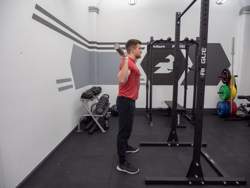 Back Squat Exercise Guide - Step Out From Rack