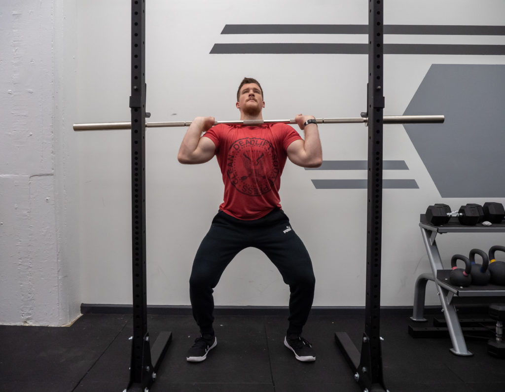 Push Press Exercise Guide - Smooth Dip