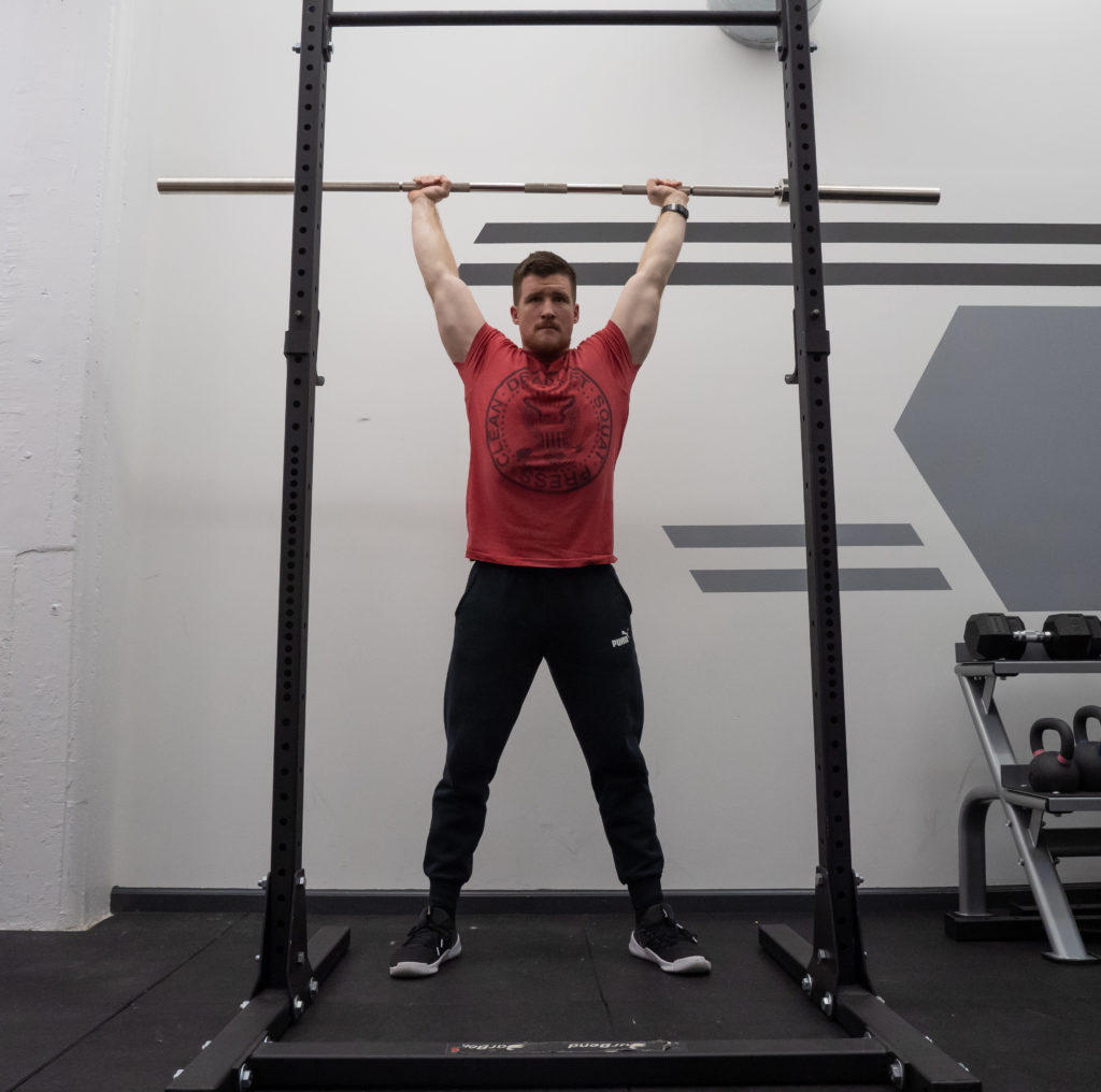 Push Press Exercise Guide - Strong Lockout