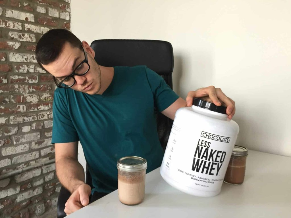 Less Naked Whey Chocolate Flavor