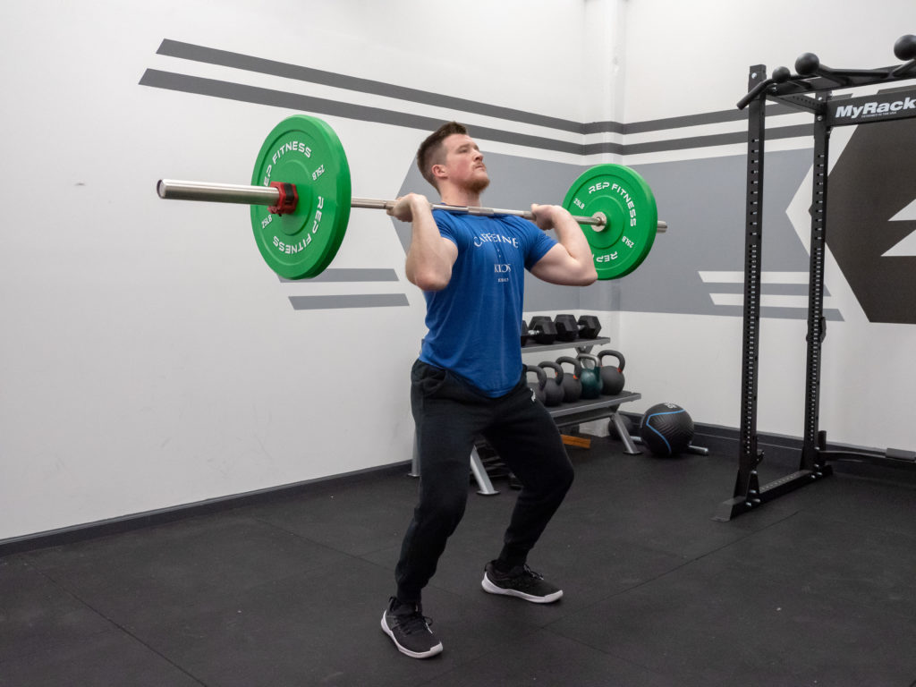 Thruster Exercise Guide - Push Through the Bar