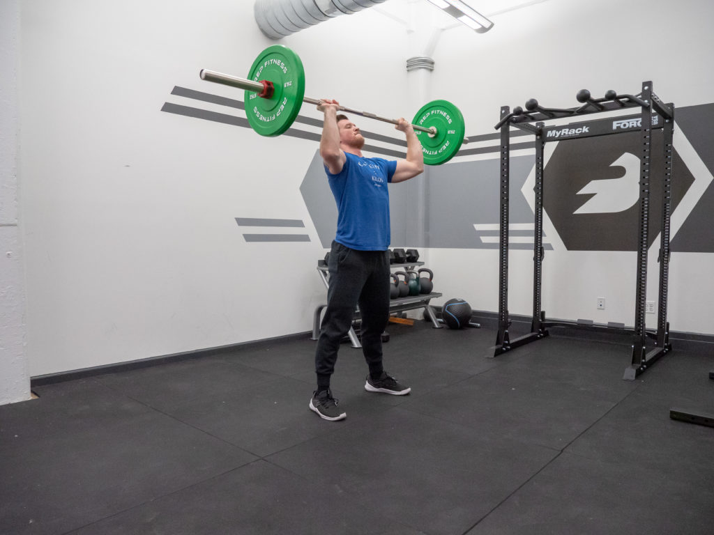 Clean and Jerk Exercise Guide - Jerk Drive