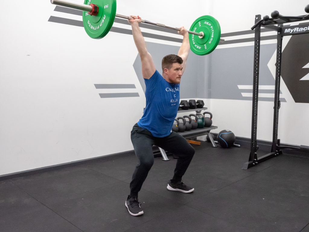 Clean and Jerk Exercise Guide - Jerk Recovery