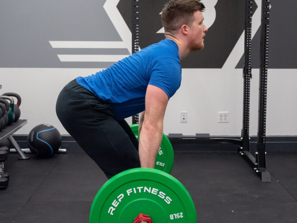 Clean and Jerk Exercise Guide - Second Pull