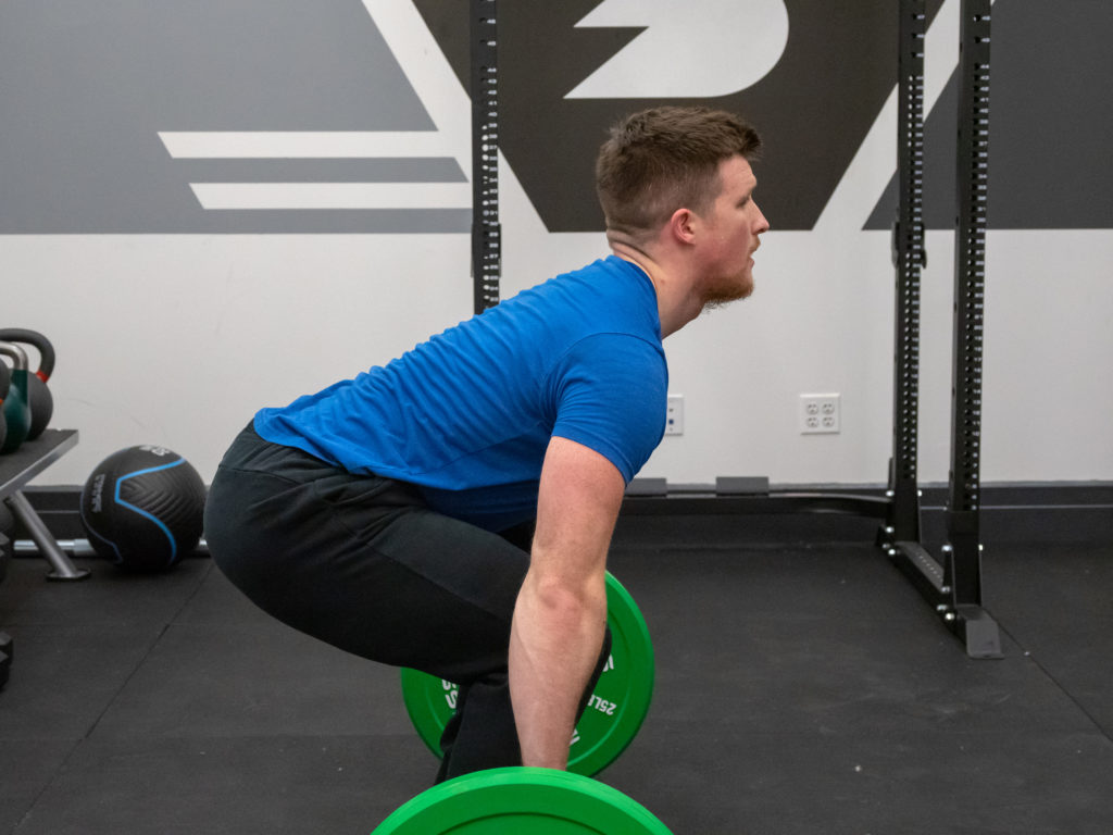 Clean and Jerk Exercise Guide - Set Up
