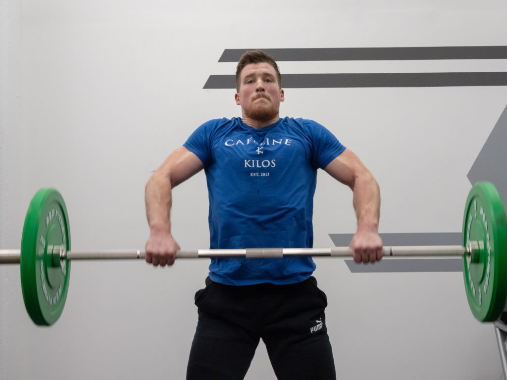 Clean and Jerk Exercise Guide - Third Pull