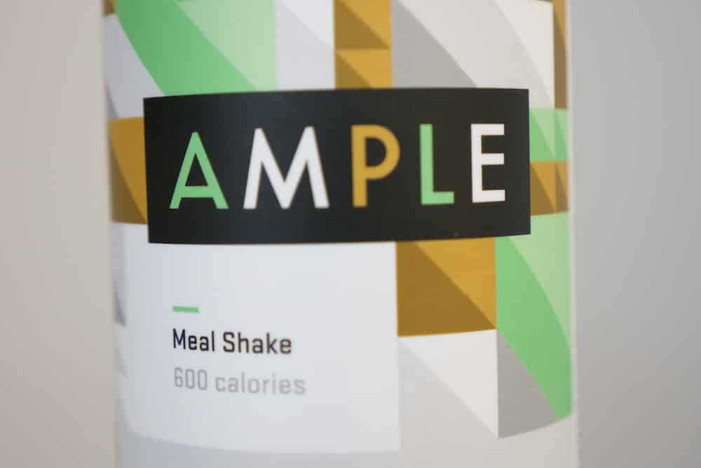 The label of Ample Meal