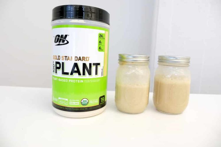 ON Gold Standard Plant Based Protein Review and Photos
