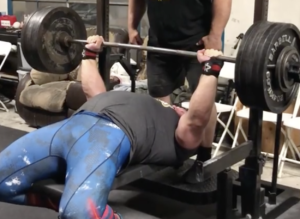 Kirill Sarychev Bench Presses 240kg for Reps