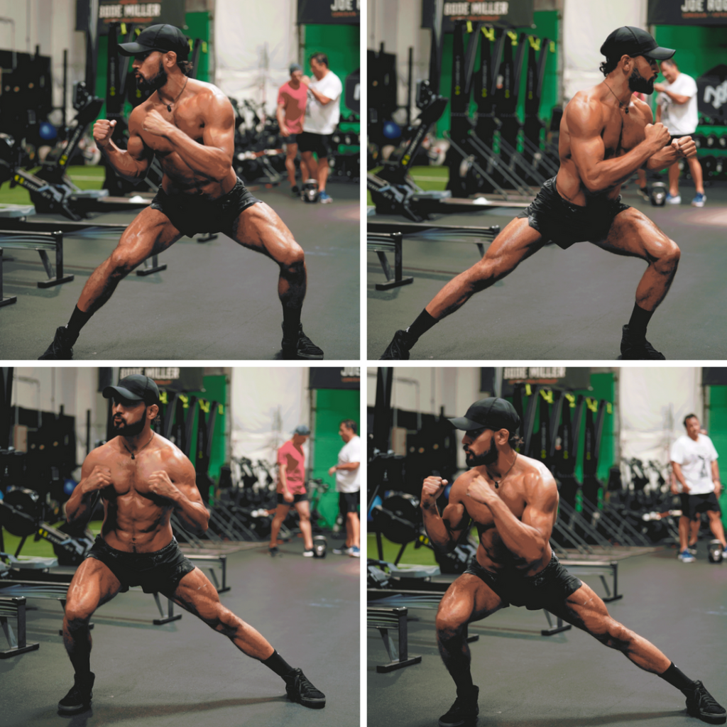 Lateral Lunge With Twist Mobility Drill