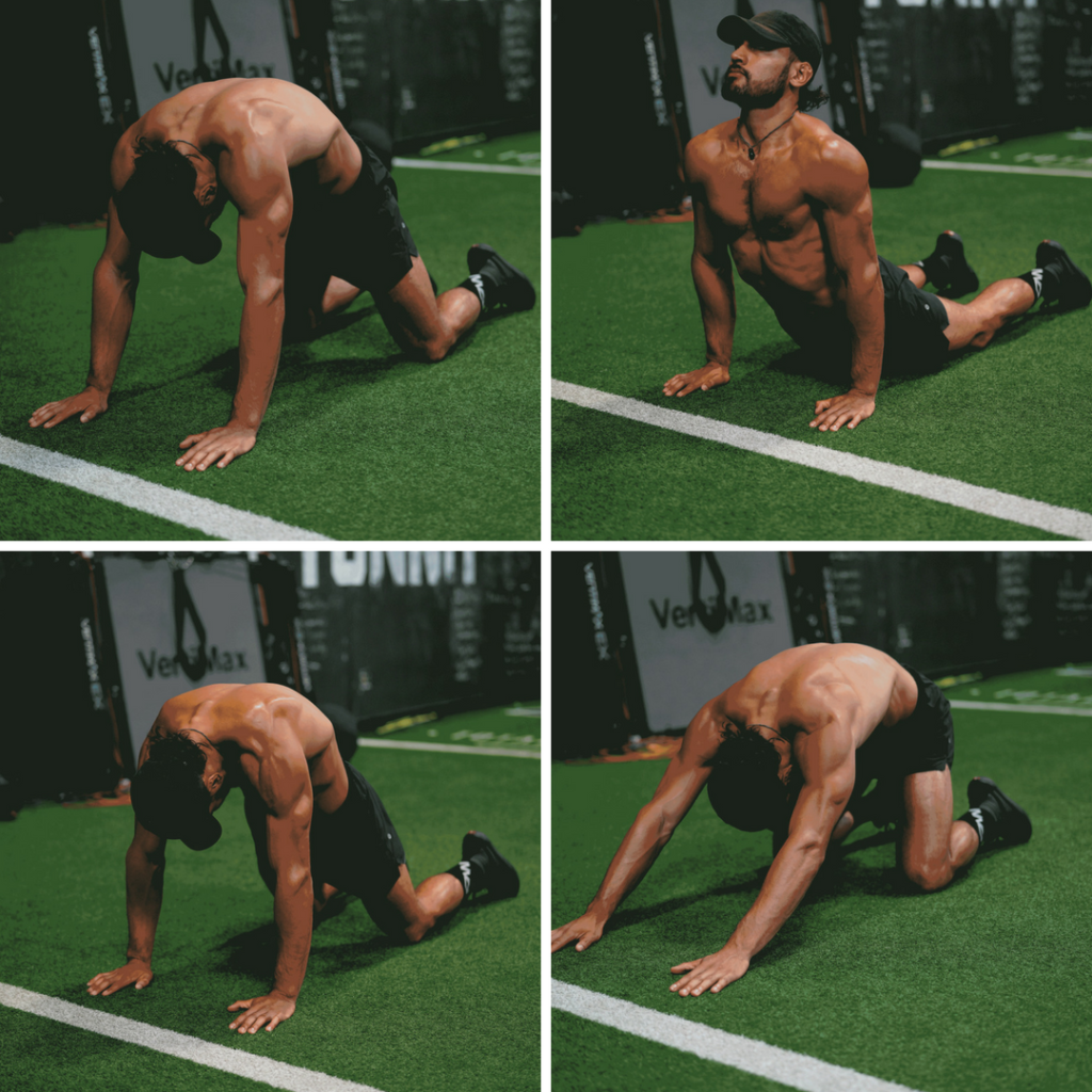 Spine Wave Mobility Drill
