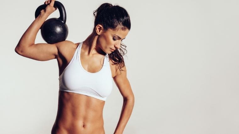 Lean Muscular Woman