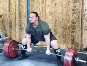 Dan Green Deadlifts 330kg for 7 Reps