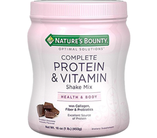 Nature's Bounty Complete Vitamin & Shake Mix