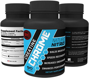 Naturo Nitro Creatine Chrome