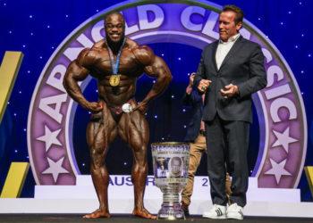 Bodybuilder Brandon Curry