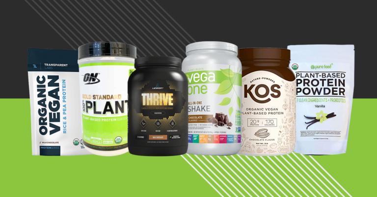 6 Best Vegan Protein Powders
