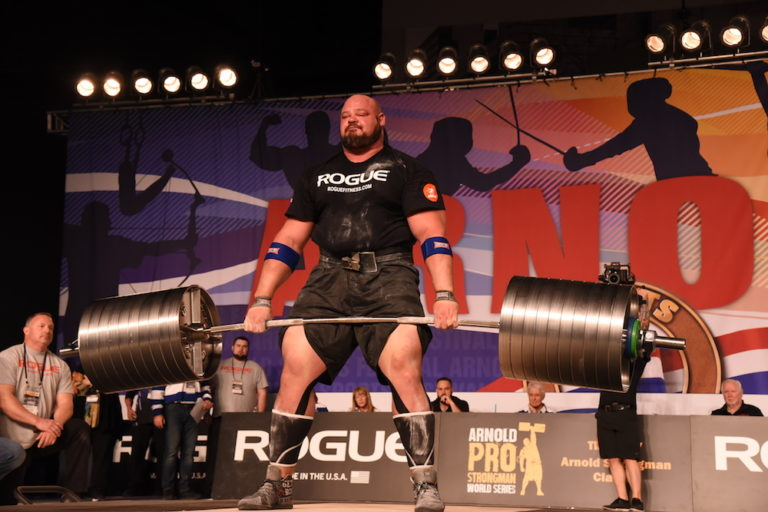 Brian Shaw Deadlift
