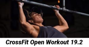 CrossFit Open Workout 19.2