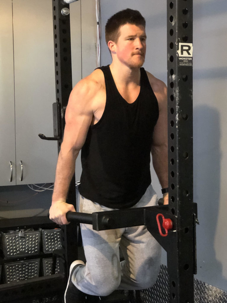 Dips Exercise Guide - Lockout
