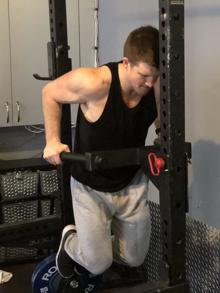 Dips Exercise Guide - Halfway