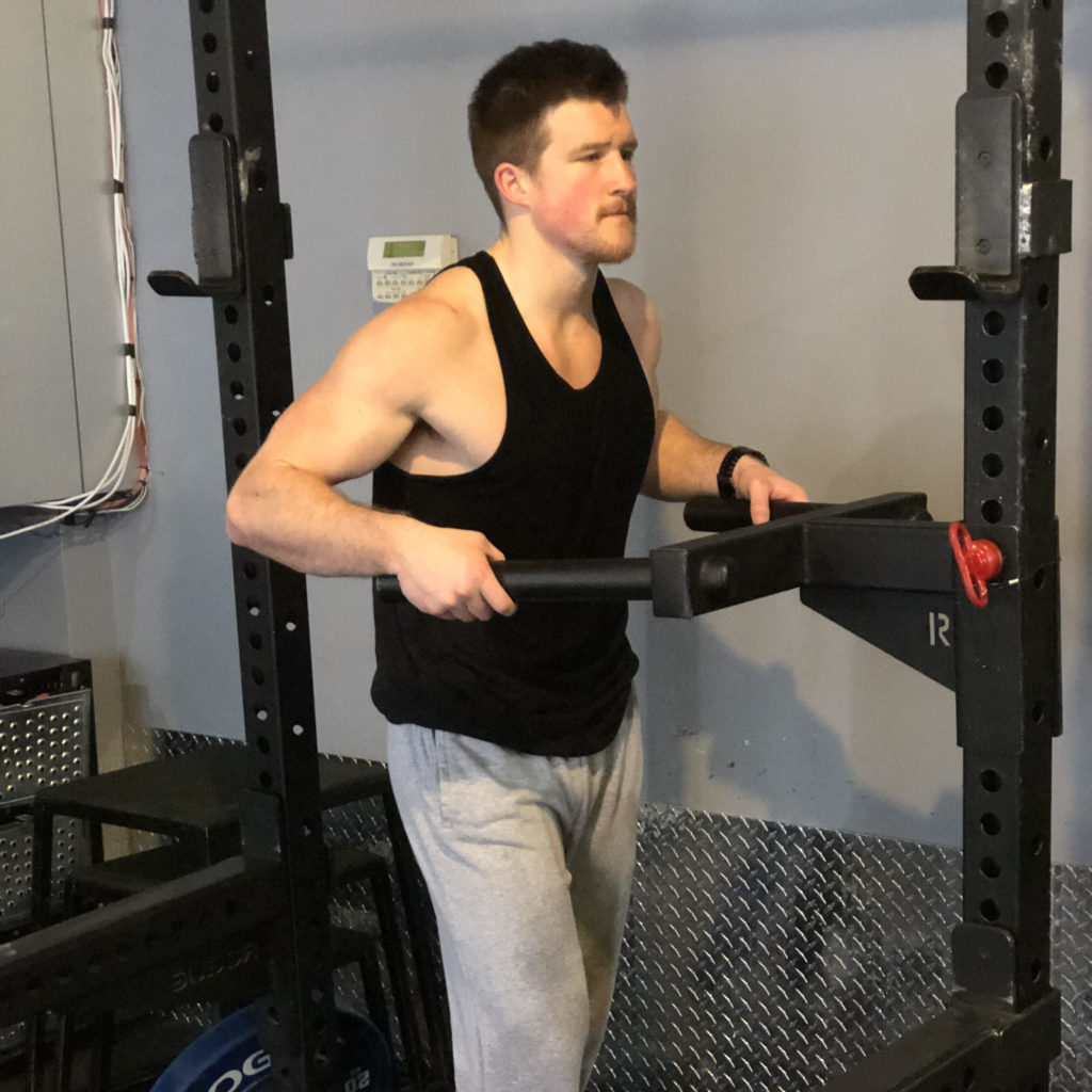 Dips Exercise Guide - Set Up