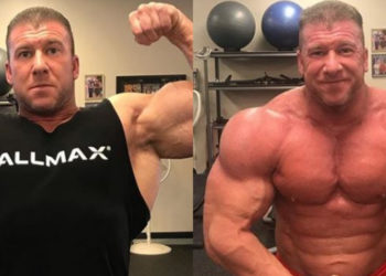 Bodybuilder Josh Wade