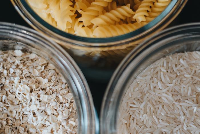 pasta oats rice free