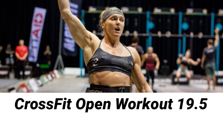 CrossFit Open Workout 19.5