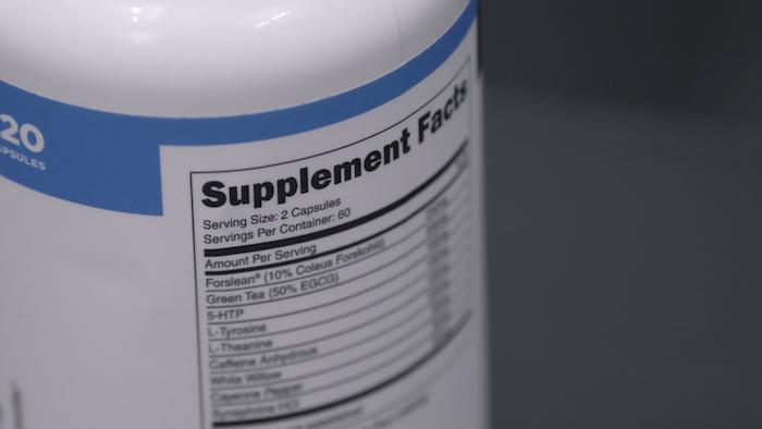 Transparent Labs Fat Burner ingredients