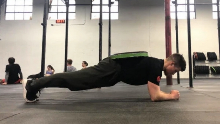 Weighted Plank Best Ab Exercise