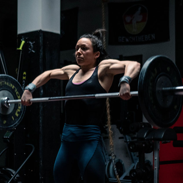 Weightlifter and Coach