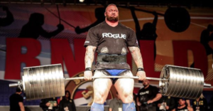 thor bjornsson elephant bar deadlift
