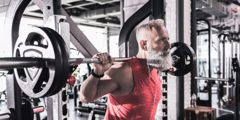 older guy barbell featured masters