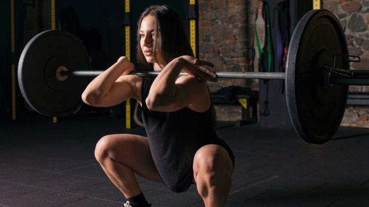 Best Leg Exercises Front Squat