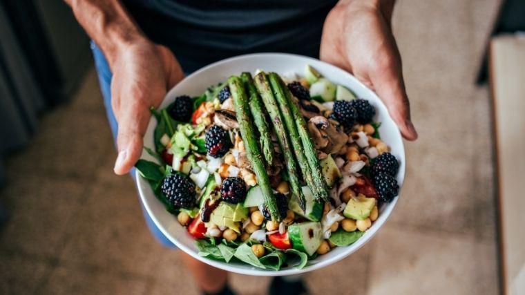 Paleo diet bowl